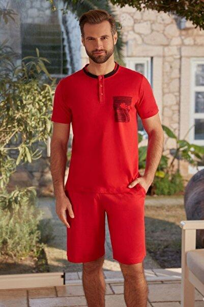 Eros Erkek Üçlü Pijama Takım 26110