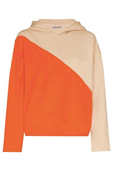 Muun Blok Renkli Sweatshirt
