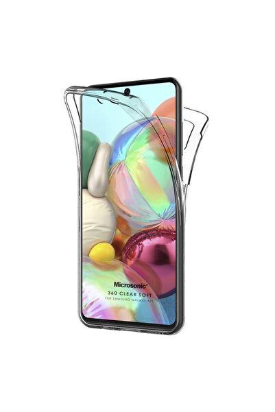 Samsung Microsonic Galaxy A71 Kılıf 6 Tarafı Tam Full Koruma 360 Clear Soft Şeffaf