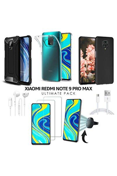 Xiaomi Microsonic Redmi Note 9 Pro Max Kılıf & Aksesuar Seti