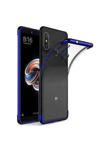 Xiaomi Microsonic Redmi S2 Kılıf Skyfall Transparent Clear Mavi