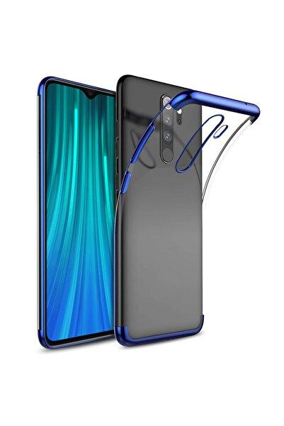 Xiaomi Microsonic Redmi Note 8 Pro Kılıf Skyfall Transparent Clear Mavi