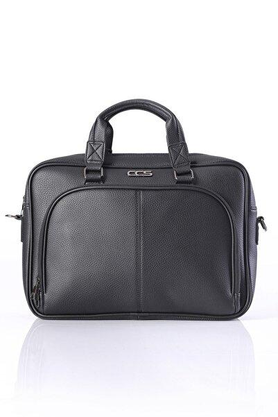 ÇÇS 71379 15.6 Inc Omuz Askılı Laptop Evrak Çantası Siyah