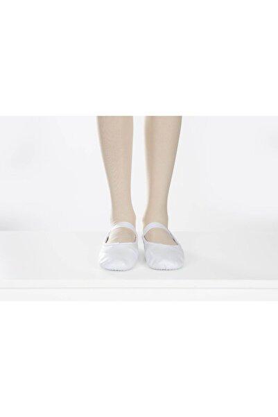 Carmen Bale Bale Patik Beyaz Deri Tüm Taban