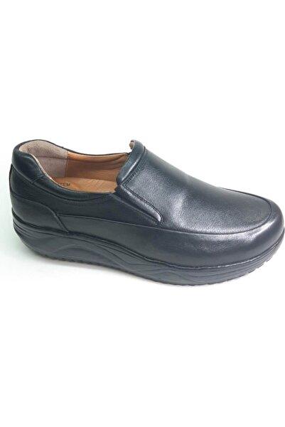 PUNTO Topuk Dikenine Özel,yumuşak Deri,kalın Tabanlı Ortapedik Günlük Ayakkabı