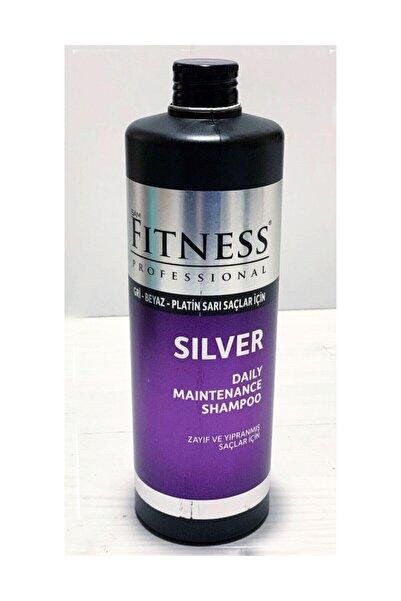 Fitness Professional Silver Mor Şampuan Gri Beyaz Platin Sarı Saçlara Uygun 750 ml