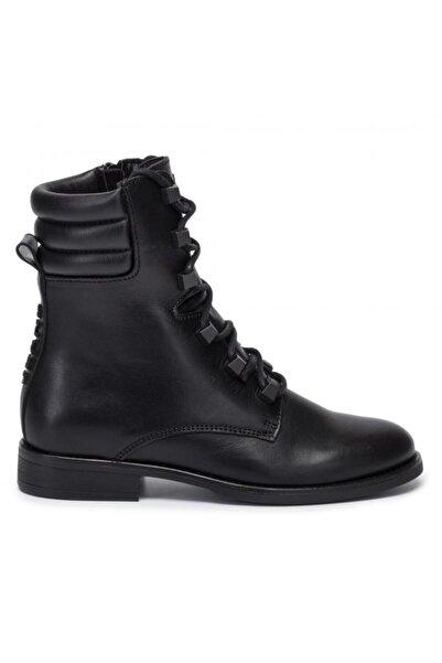 Tommy Hilfiger Pın Logo Lace Up Boot