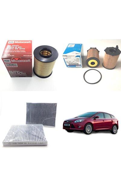 WUNDER Ford Focus 3 1.6 Tdci ( 2011 - 2018 ) Filtre Bakım Seti