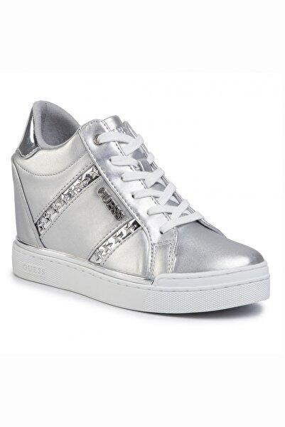 Guess Kadın Gümüş Fayne Sneaker
