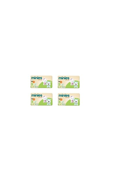 Minies 3 Numara 50x4=200 Adet Bebek Bezi 4'lü Paket