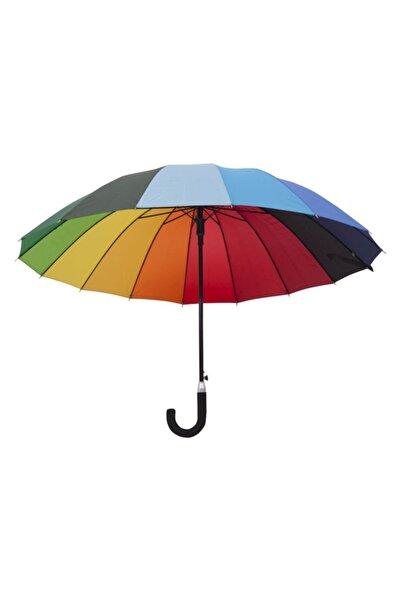 Biggbrella 04125-u45 Uzun Gökkuşağı Şemsiye