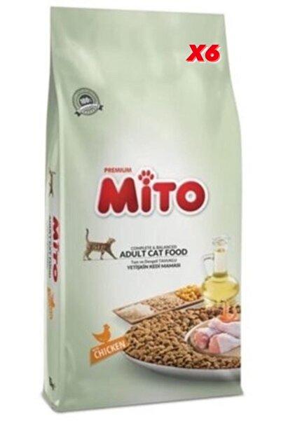 Mito Tavuklu 1 Kg X6 Yetişkin Kedi Maması Orjinal Paket