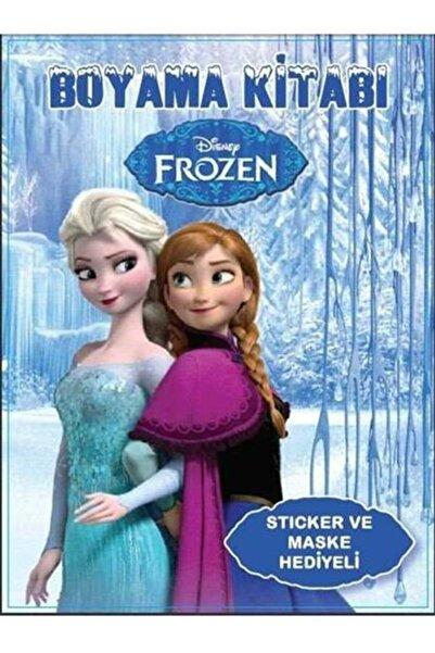 vipparty Boyama Kitabı Stıcker Ve Maske Hediyeli Disney Frozen