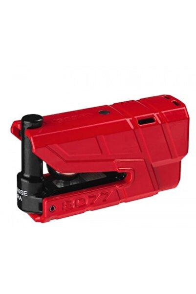 Abus 8077 Granit Detecto X-plus Kırmızı Alarmlı Disk Kilit
