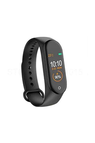 Kingboss M4 Bluetooth Akıllı Bileklik Renkli Ekran Nabız Ölçer Adım Sayar