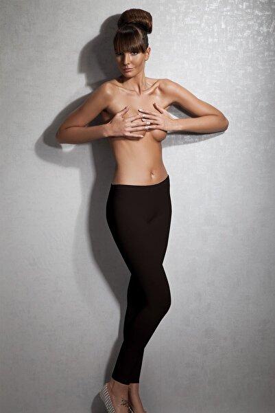 Doreanse Kadın Siyah Modal Termal Tayt 8065