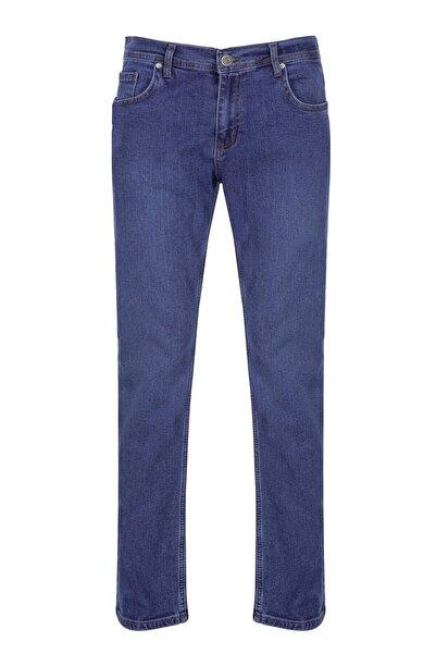 İgs Erkek Mavi Rahat Kalıp Pantolon