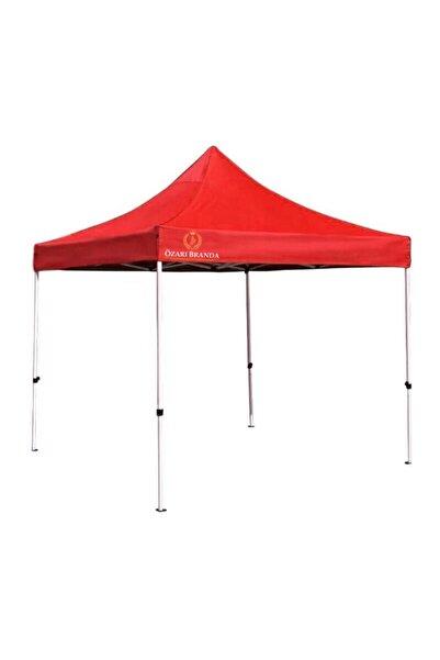 ÖzarıBranda Gazebo Çardak Katlanır Tente Kamelya Portatif Çadır 300cm X 300 Cm