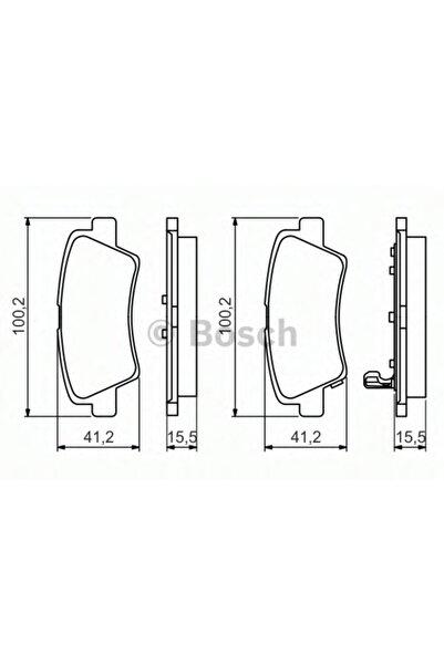 Bosch Fren Balatası - Hyundaı I30 - 1.4-73 Kw 2011 - 2015