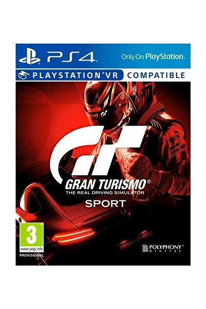 Sony Gran Turismo Gt Sport Vr - Türkçe Menü Ps4 Oyun