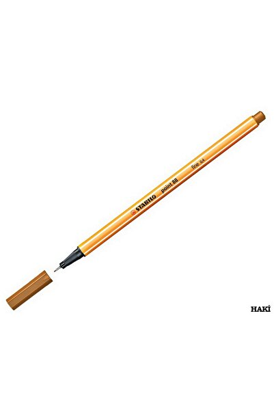 Stabilo Point 88 Ince Uçlu Kalem 0.4 Mm Açık Kahve