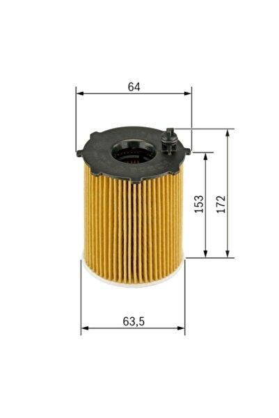 Bosch Yağ Filtresi - Bmw 1 - 123 D-150 Kw 2007 - 2012