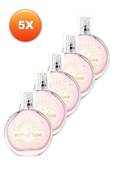 AVON Wish Of Love Kadın Parfüm Edt 50 Ml 5'li Set