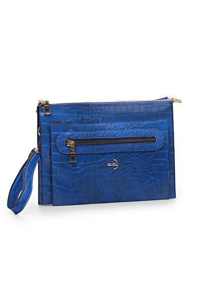 Deri Company Kadın Mavi Çanta