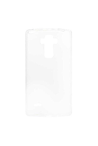 LG G4 Stylus Uyumlu  Kılıf Şeffaf Esnek Süper Silikon