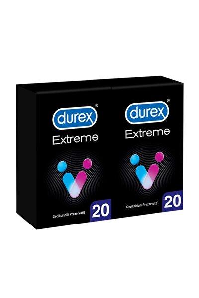 Durex Extreme Geciktiricili Prezervatif 40'li Avantaj Paketi