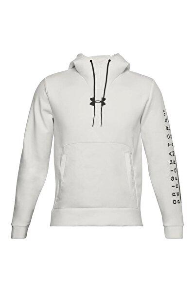 Under Armour Erkek Spor Sweatshirt - UA Summit Knit Hoodie - 1360730-112