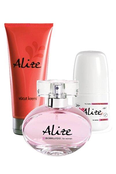 BioBellinda Alize Edp 200 ml Kadın Parfüm Seti BIOALIZESET3