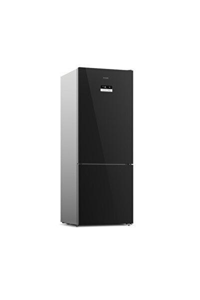 Arçelik 270560 Esc Siyah Cam No Frost Buzdolabı