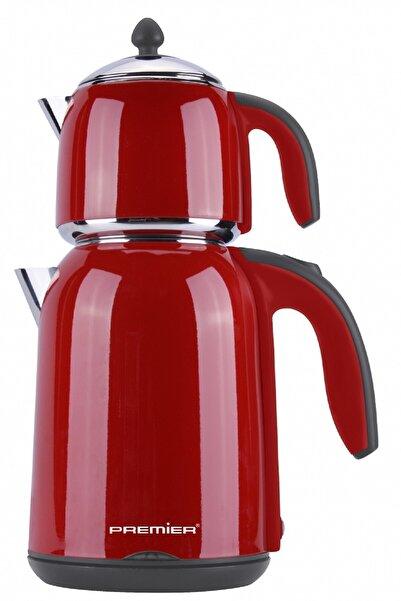 Premier Ptp 3945 Kırmızı Tiryaki 2000w Çift Kaplamalı Çaycı