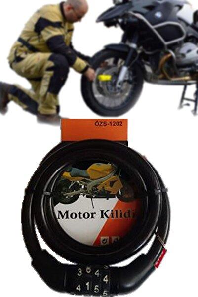 Mobee Özs-1202 Şifreli Motor Ve Bisiklet Kilidi Dayanıklı Malzeme, Tam Koruma