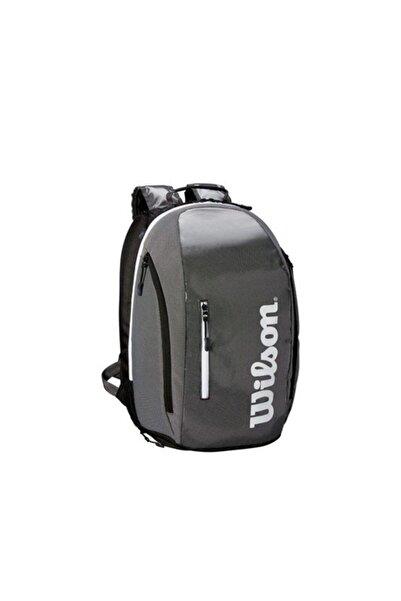 Wilson Super Tour Backpack Gri Tenis Sırt Çantası Wrz843996
