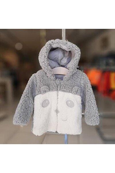 Bibaby Kışlık Gri Panda Hırka