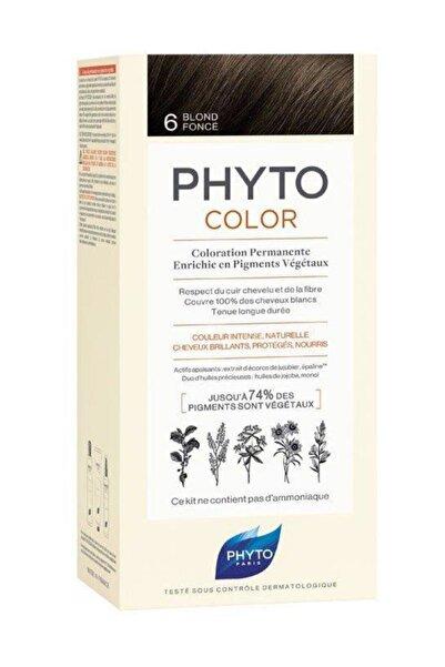 Phyto Color 6 Koyu Kumral Saç Boyası Yeni Seri
