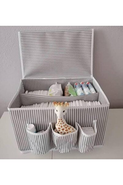 HOMELİFE EV TEKSTİL Baby Bezi Saklama Düzenleme Hediye Kutusu