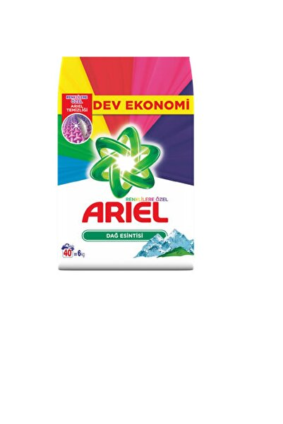 Ariel Matik Parlak Renkler Dağ Esintisi 6 kg