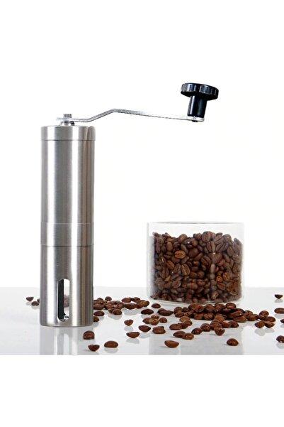 Cooltech Seramik Kahve Değirmeni Öğütücü Ayarlanabilir Paslanmaz Çelik