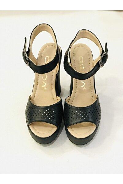 Awon Kadın Siyah Ayakkabı