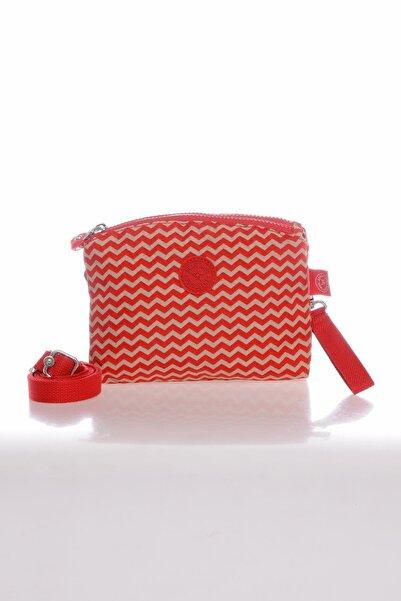 SMART BAGS Smb1111-0134 Kırmızı/bej Kadın Minik Çapraz Çanta