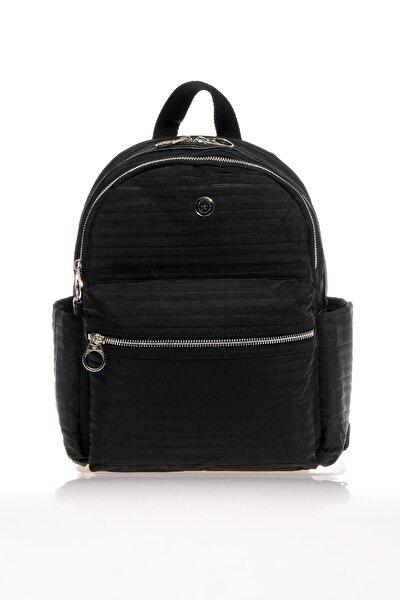 SMART BAGS Smb3023-0001 Siyah Kadın Sırt Çantası