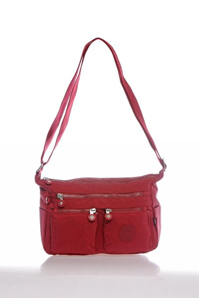 SMART BAGS Smb3065-0021 Bordo Kadın Çapraz Çanta