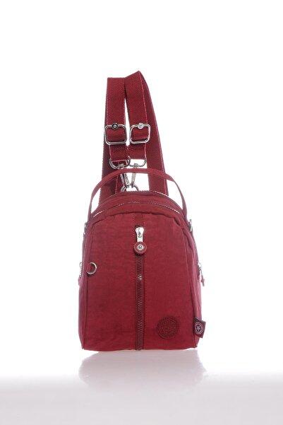 SMART BAGS Smb3053-0021 Bordo Kadın Minik Sırt Çantası