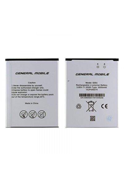 General Mobile Gm 6 Için G004 3000 Mah Batarya