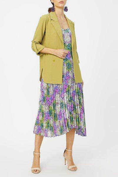 RANDOM Kadın Düğme Detaylı Ceket %100 Polyester