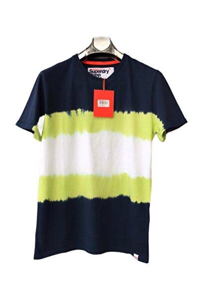 SUPERDRY Erkek Lacivert T-shirt