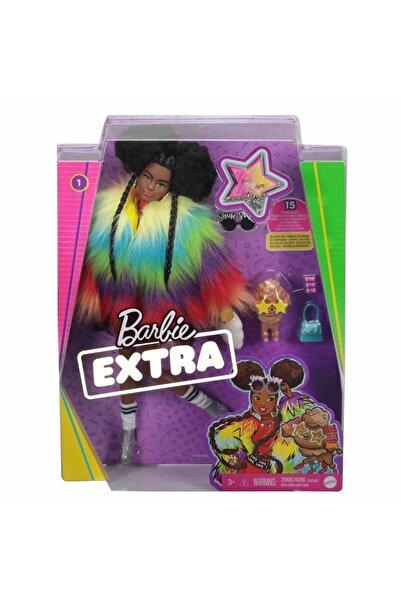 mattel Barbie Extra Renkli Ceketli Bebek Gvr04